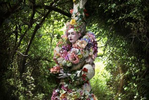 Kirsty Mitchell, The Stars of Spring Will Carry You Home (detail), 2014
