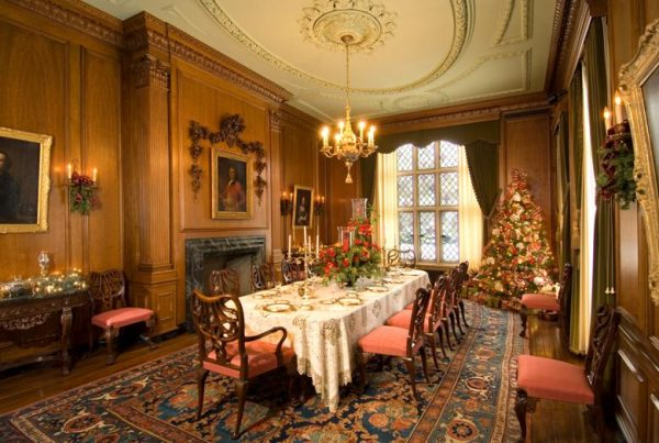 Dining Room in the Paine Mansion