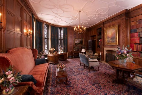 Library in the Paine Mansion