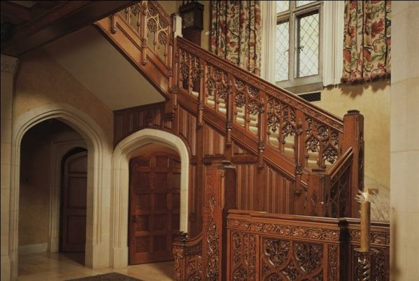 Great Stairs in the Paine Mansion