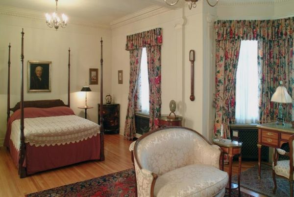 Master Bedroom in the Paine Mansion