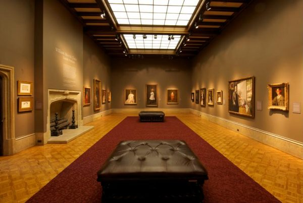 Main Gallery in the Paine Mansion