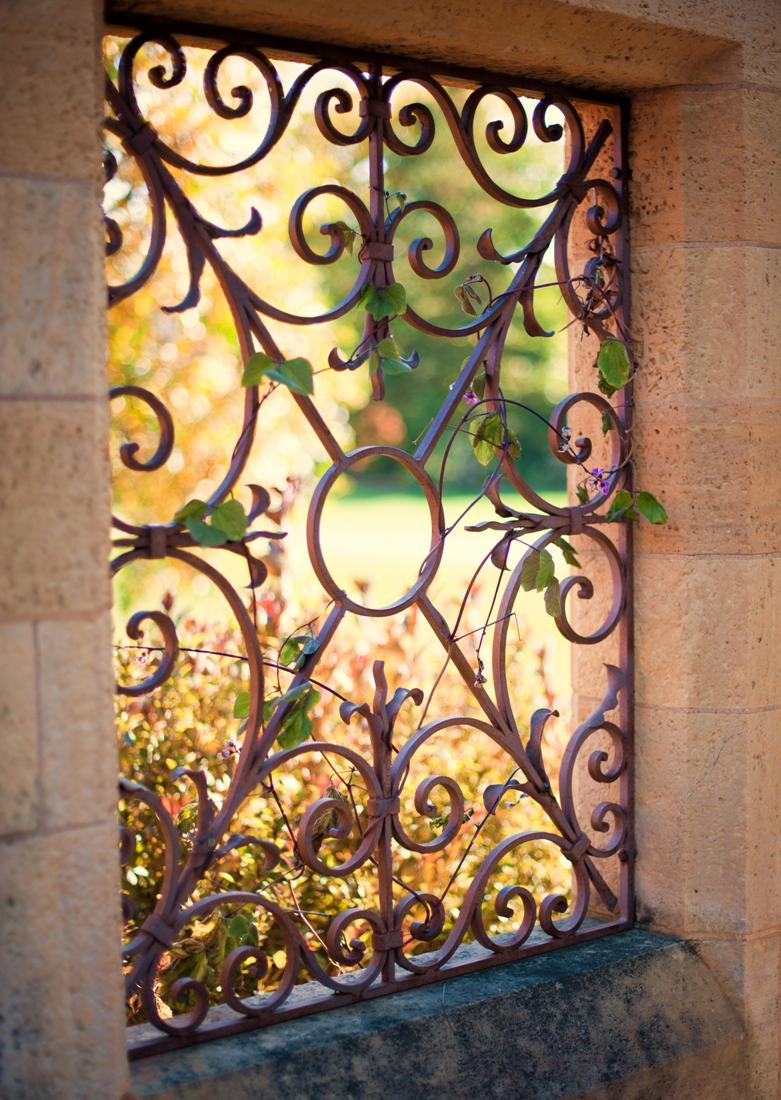 Wrought Iron Window - Paine Art Center and Gardens